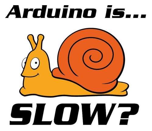 Speeding up Arduinos…