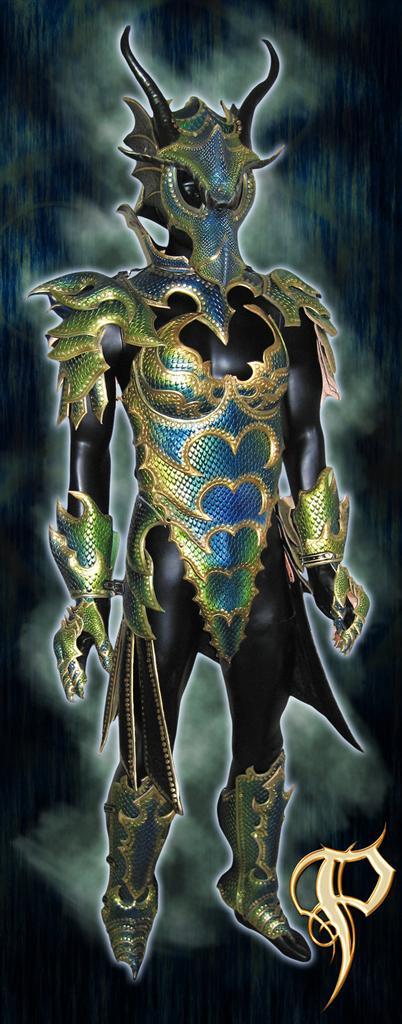 Amazing fantasy armor leatherwork