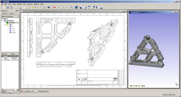 FreeCAD open source design software