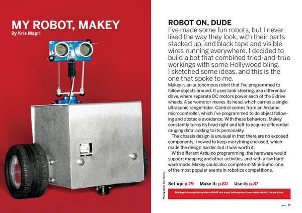 Intern's Corner: How I designed Makey the robot