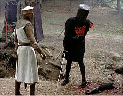 The Black Knight always triumphs!