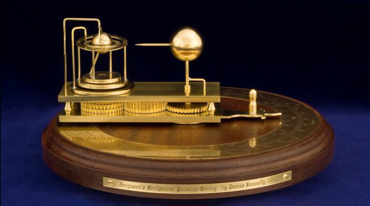 Orrery based on Ferguson\'s \