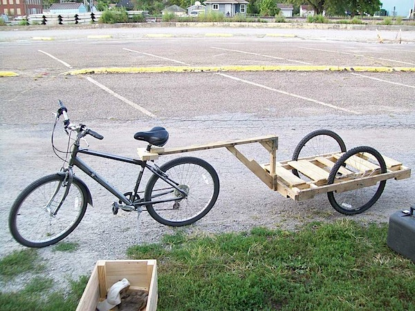 How-To: Simple bike trailer
