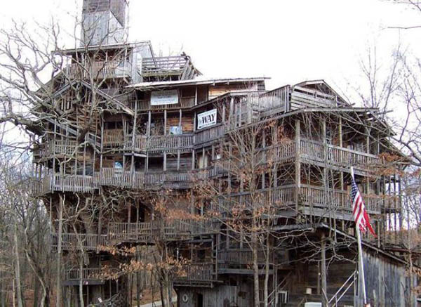 Humongous treehouse