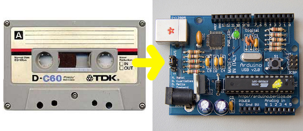 Programming a microcontroller without a computer