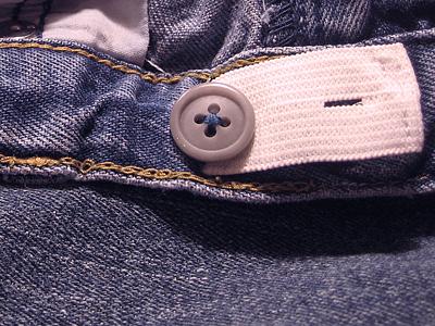 How-To: Add Adjustable Elastic to Kids' Pants