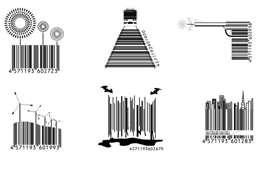 Making UPC barcodes less boring