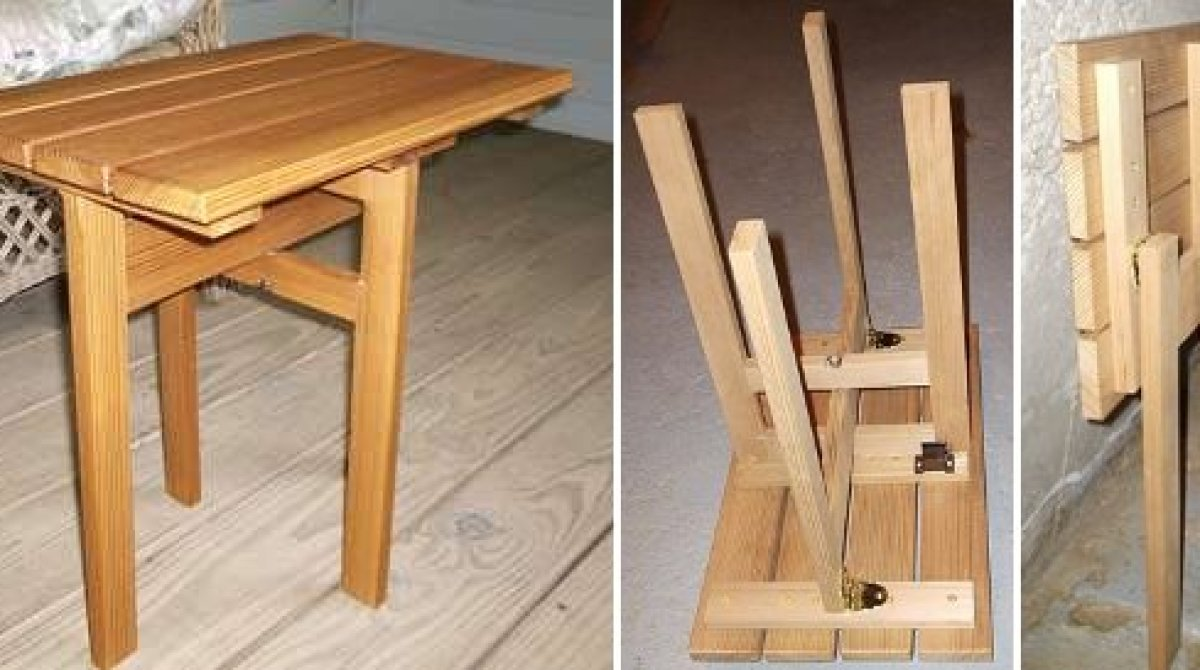 building a folding table make
