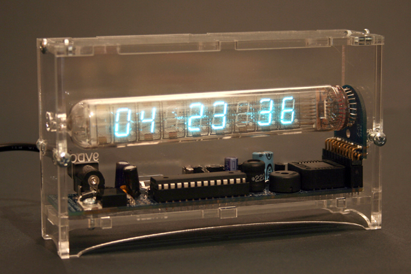 New in the Maker Shed: Ice Tube Clock kit