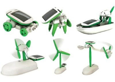 New in the Maker Shed: 6-in-1 Educational Solar Robotic kit