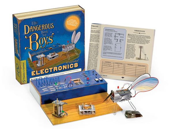 New in the Maker Shed: Dangerous Book for Boys Electronics