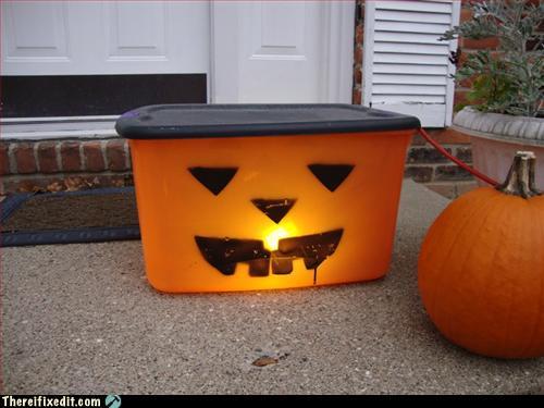 Reductionist Jack-'o-lantern