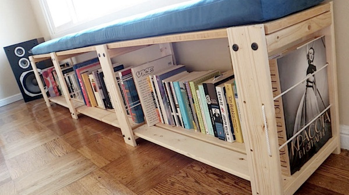 can unique make bookshelf a that remodelaholic used to stacked dimensions diy bench plans be