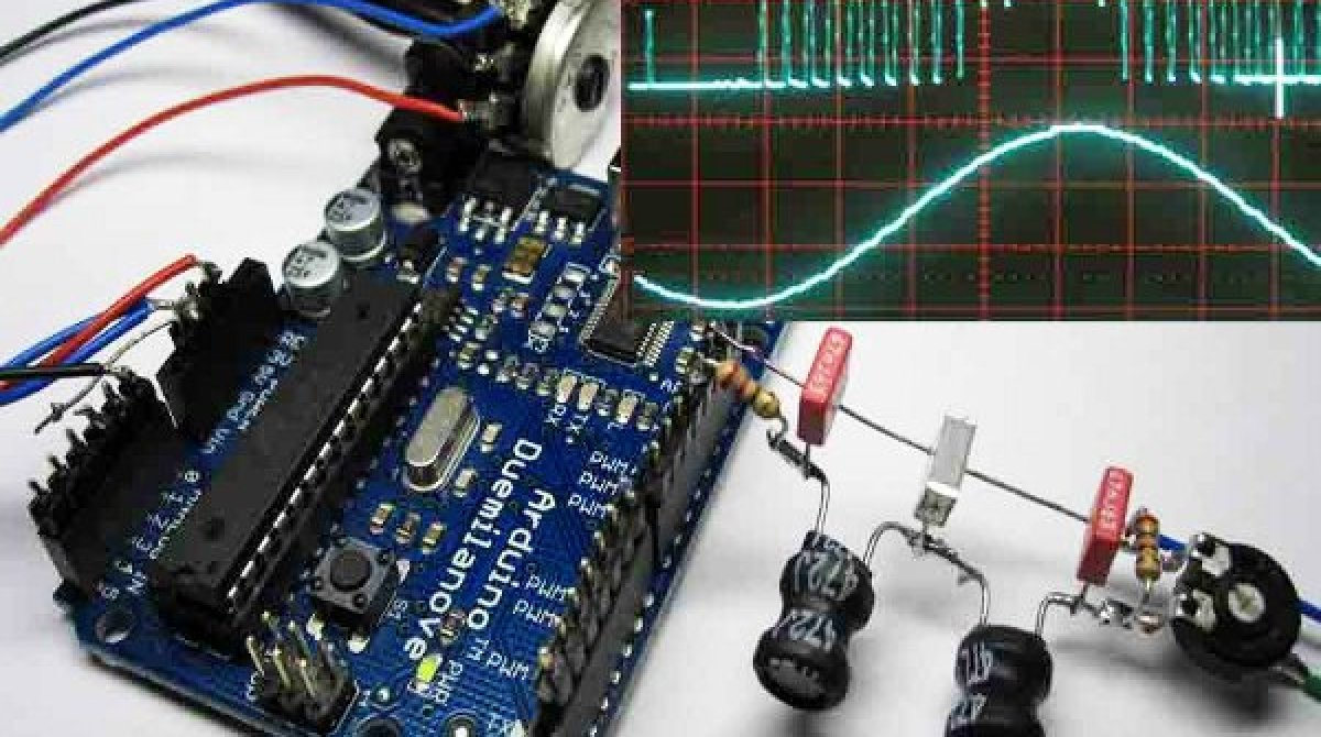 Generating high-quality sine waves with Arduino | Make: