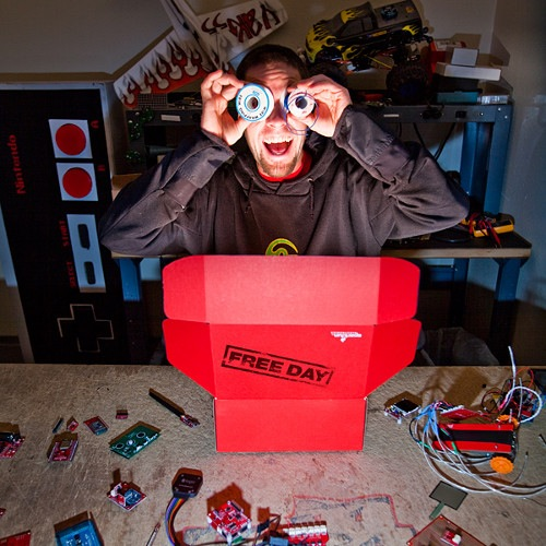 Sparkfun's free day January 7th