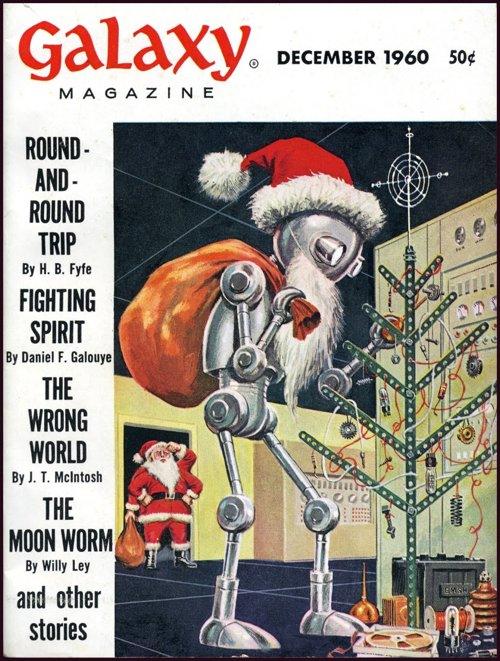 Happy Holidays from Galaxy Magazine, 1960