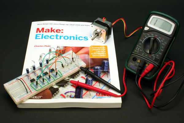 Make: Electronics – Interview with Charles Platt & Gareth Branwyn
