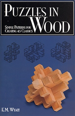 New in the Maker Shed: Puzzles in Wood book
