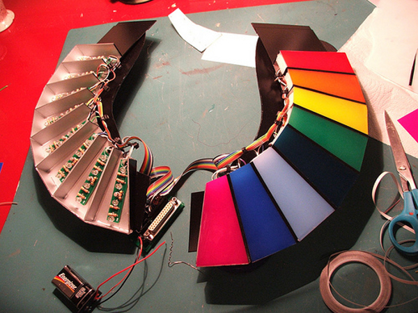 Daft Punk helmet build process
