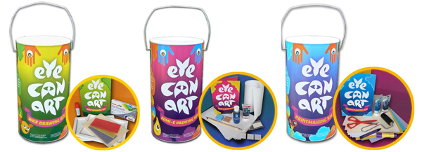 New in the Maker Shed: Eye Can Art Kits for kids