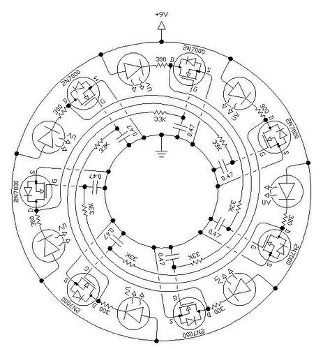 Ring Oscillator Pendant