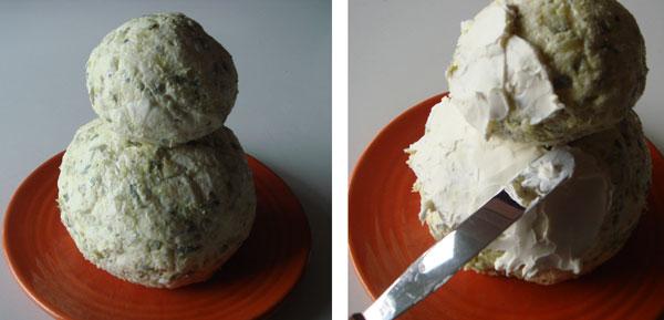 Cathy Callahan's Old School: Snowman Cheese Ball