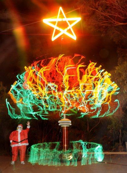 If Tesla had a Christmas tree