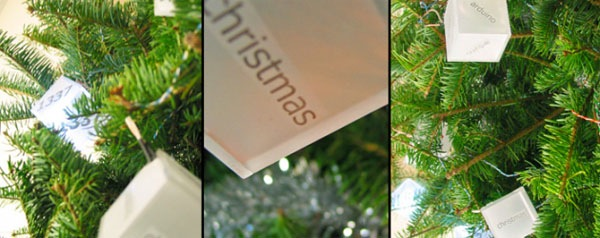 Christmas Tree responds to Twitter mentions