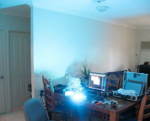 Photon-blasting 60W RGB LED array