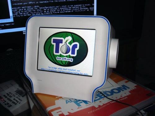 Tor Bridge on chumby One