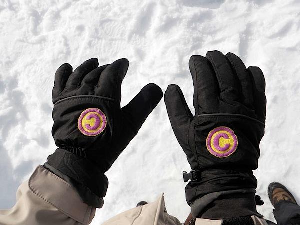 Copyright/Copyleft gloves