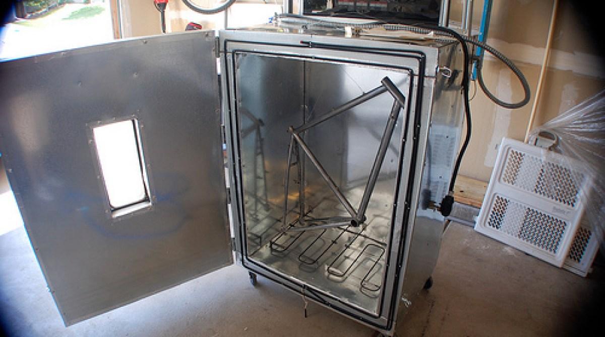 Diy Powder Coating Oven Make