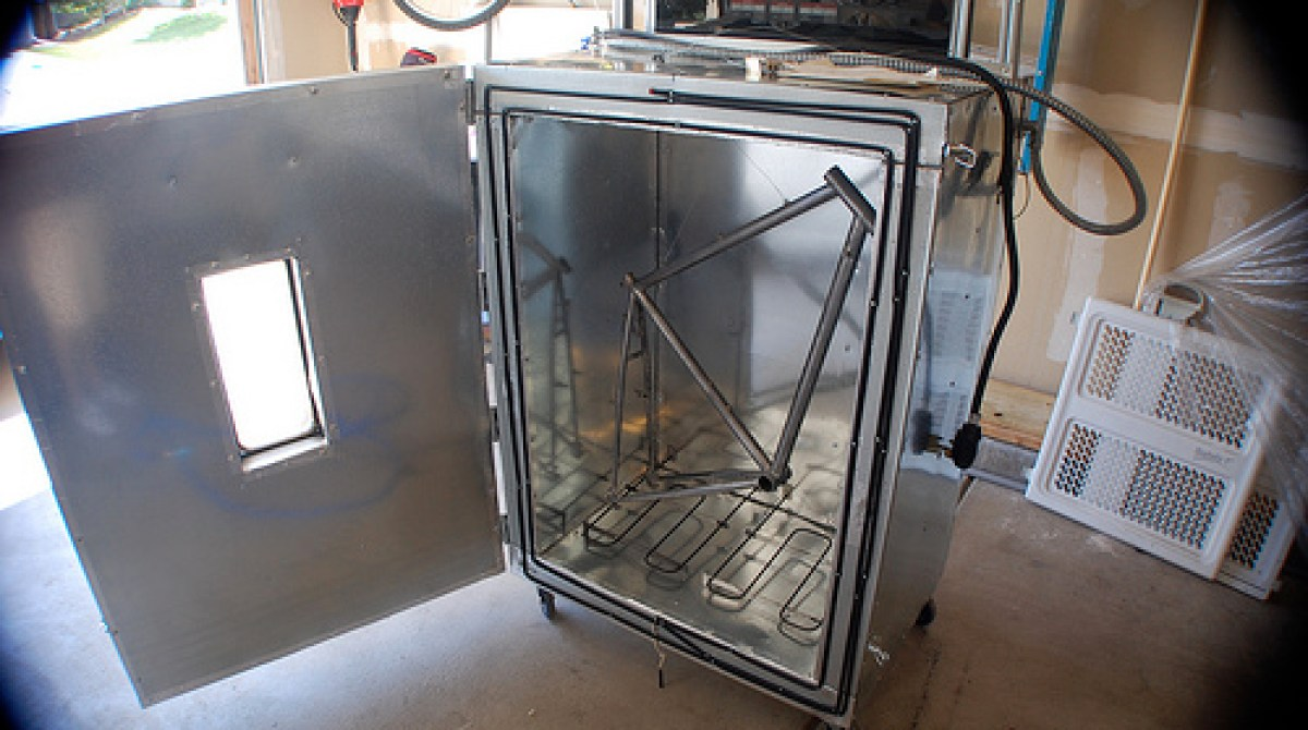 DIY powder coating oven | Make: