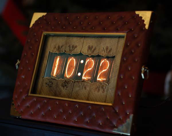 Wait, that's not a nixie clock!