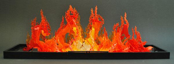 Lego flame