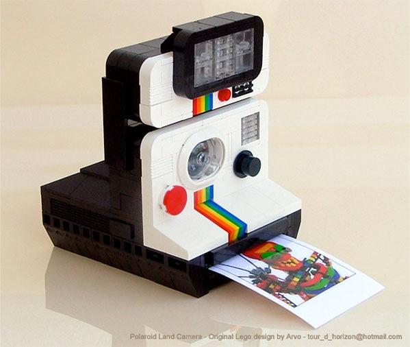 Lego polaroid looks snappy