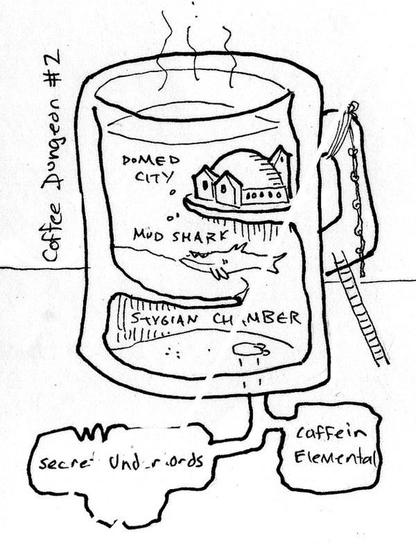 Tony Dowler's microdungeons