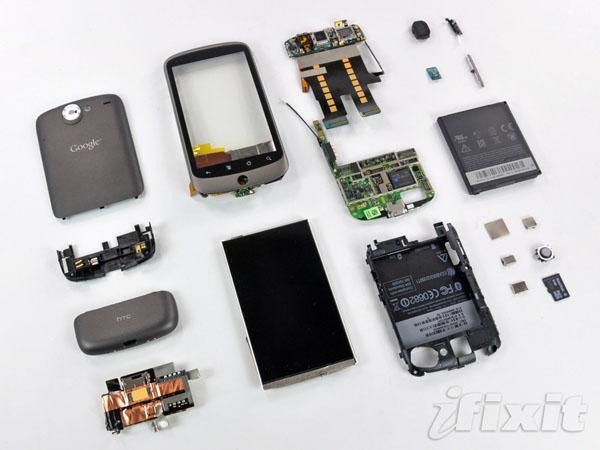 Alt.CES: Nexus One teardown