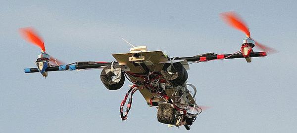 Vicacopter open source autonomous VTOL UAV