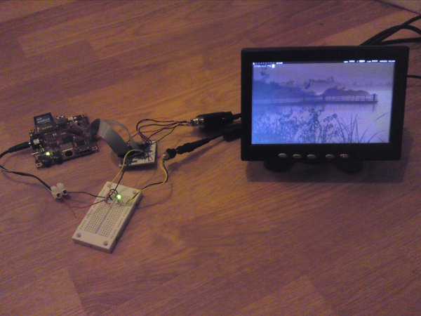 Adding VGA output to a Beagleboard