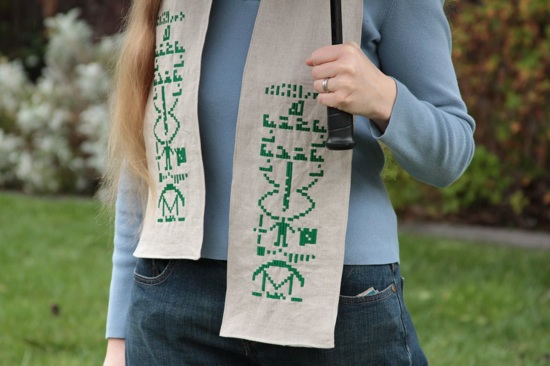 A scarf to aid your search for terrestrial intelligence