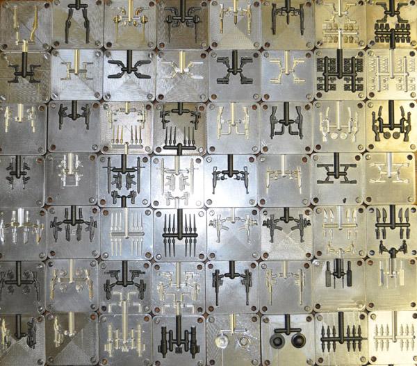 Brickarms molds