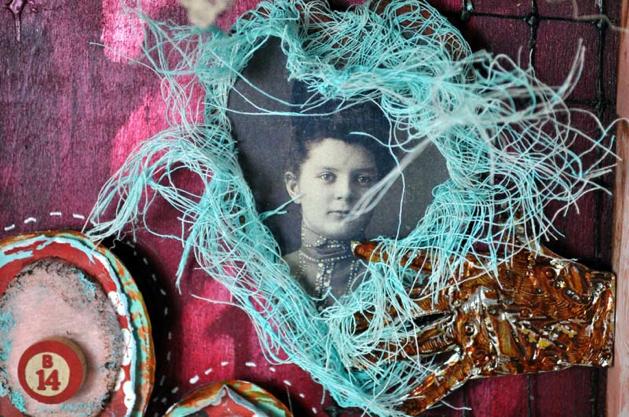 Collage Contessa's Love Shrine