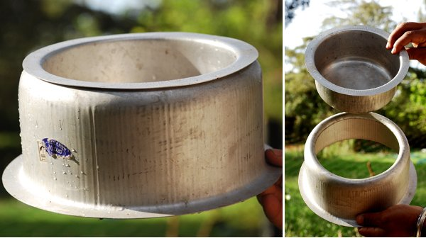 Turning two pots into one efficient pot