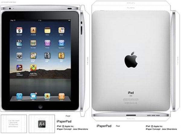 Papercraft Surrogate iPad