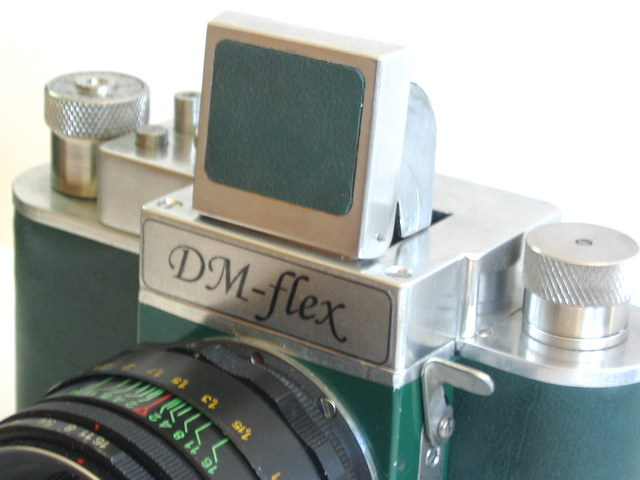Scratch-built SLR camera
