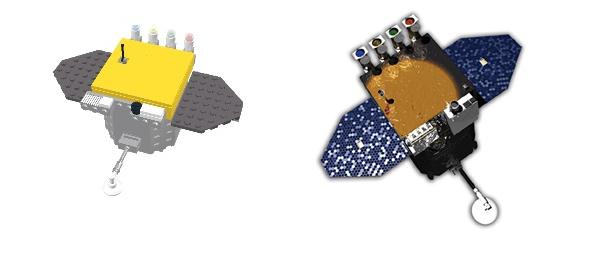 Lego Solar Dynamics Observatory kit
