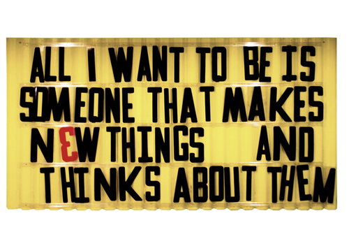 Maker haiku art print