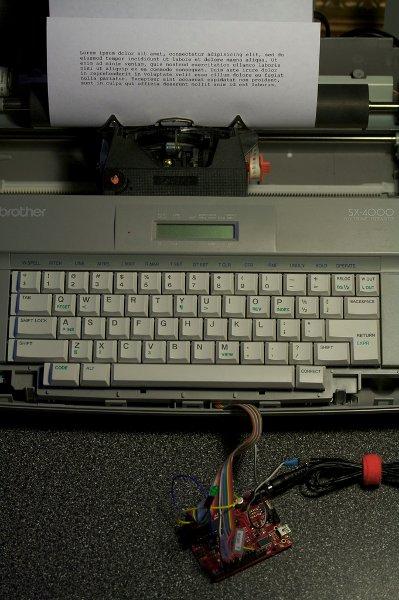 From typewriter to teleprinter