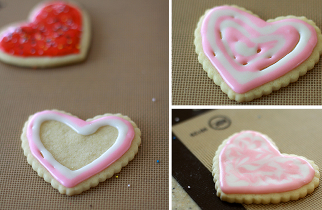 Valentine's Day Vanilla Cut-Out Cookies